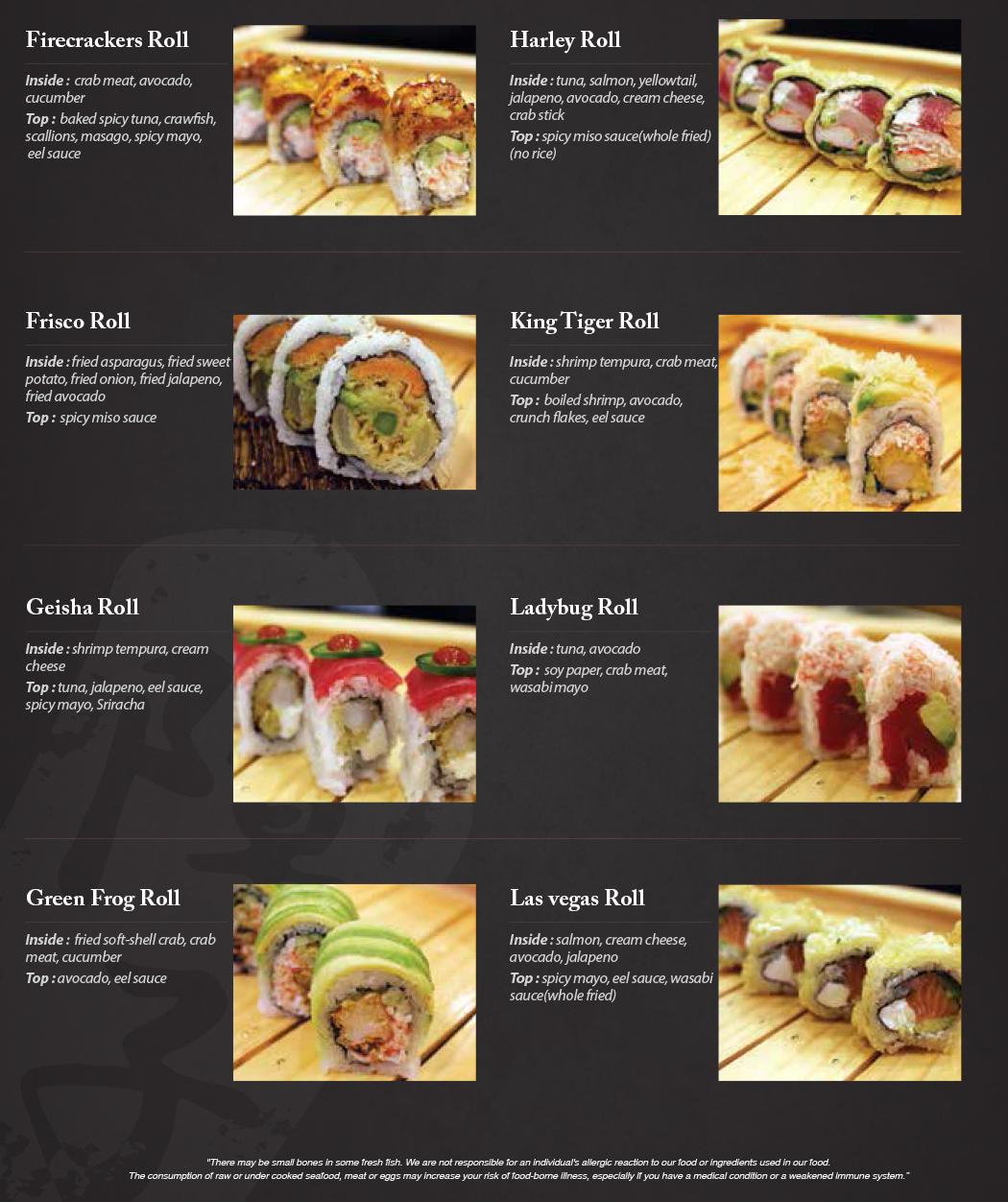 Shoji Sushi, Sashimi, and Specialty Rolls   SHOJI SUSHI AND